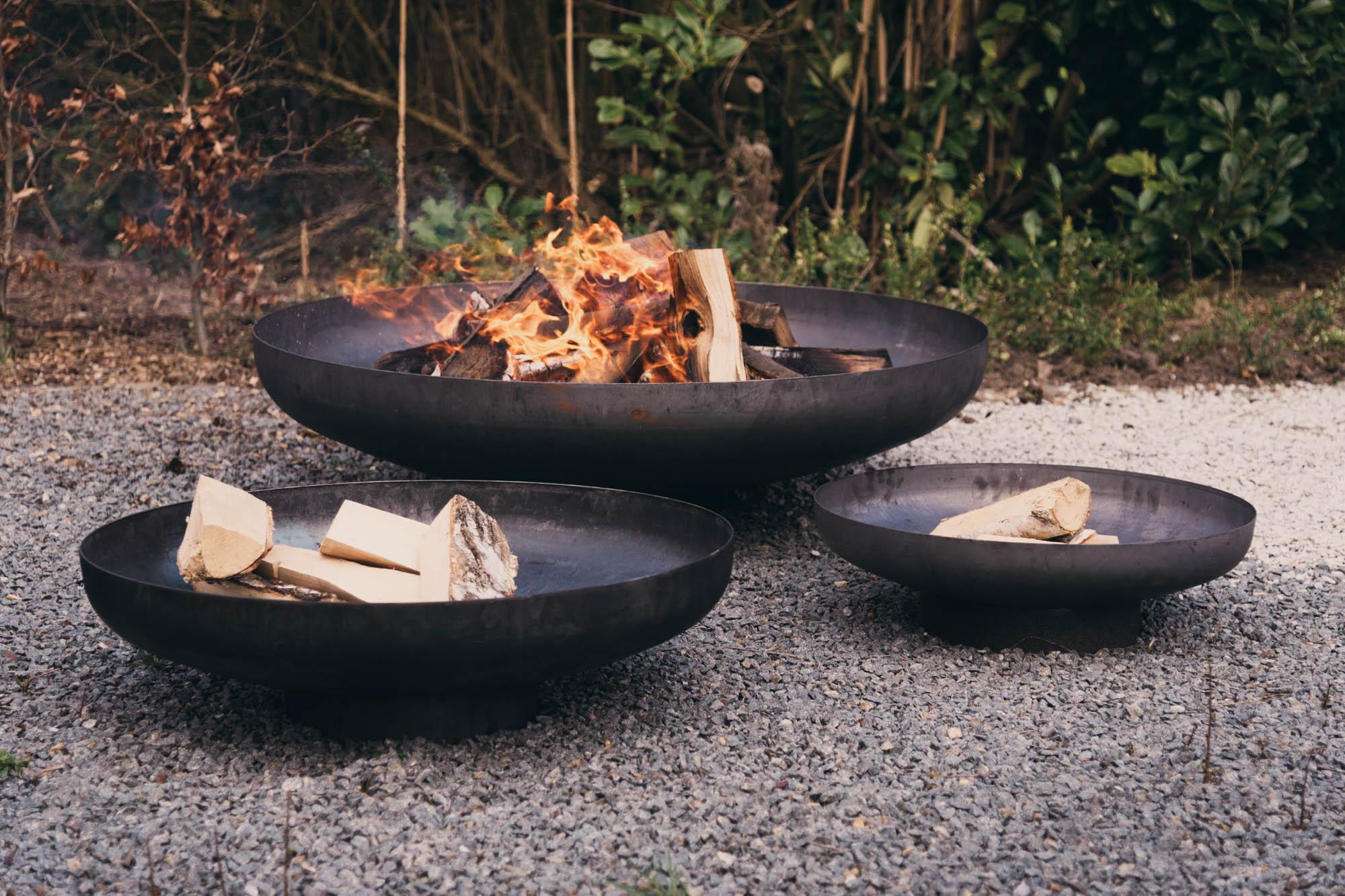 Verkoop vuurschalen en barbecue